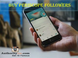 Buy Periscope Followers 500 for $15