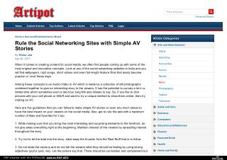 Social Networking Websites in India