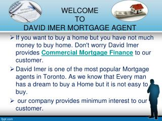 Best Commercial Mortgage Finance Services in Canada