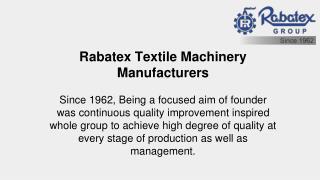High speed automatic sample warper ri 6001 by rabatex industries