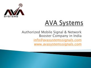 Best Mobile Signal & Network Booster Company in Delhi, India
