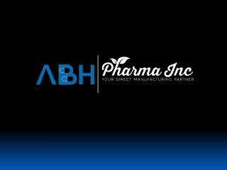 Vitamin Supplement Manufacturer with ABH Pharma