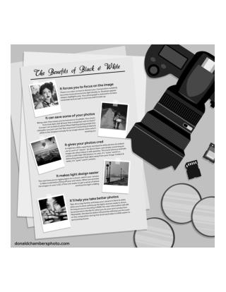 Benefits of Black & White Photography