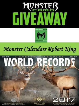Monster Calendars Robert King