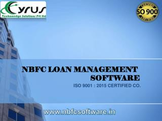 Best NBFC Software in India