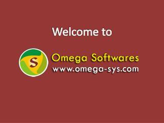 ERP Software development - Omega Softwares
