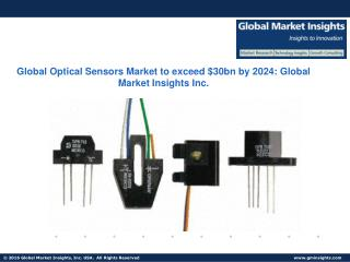 Optical Sensors Market share to reach USD 30 billion by 2024