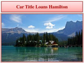 Car Title Loans Hamilton
