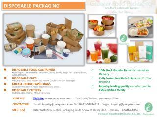 Pacqueen - Greener Food Packaging Solutions