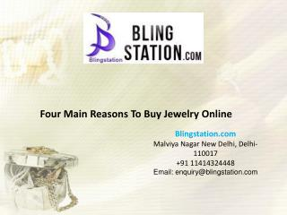 Best Reasons To Buy Jewelry Online