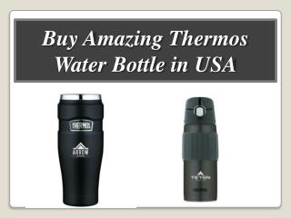 Buy Amazing Thermos Water Bottle in USA