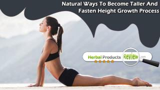 Natural Ways To Become Taller And Fasten Height Growth Process