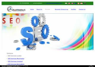 Expert SEO Services In London!