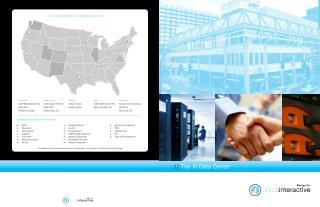 Opus Interactive Data Center Locations -| Opus Interactive