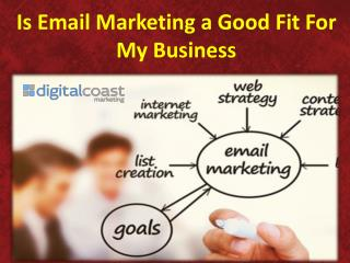 Is Email Marketing a Good Fit For My Business