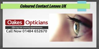 Coloured Contact Lenses UK