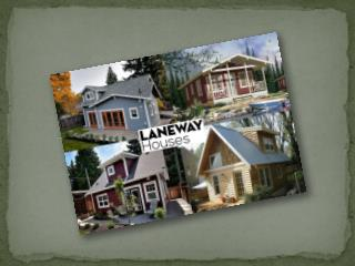 Increase Your Property Value by Building a Laneway House