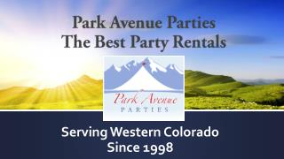 Park Avenue Parties - The Best Party Rentals