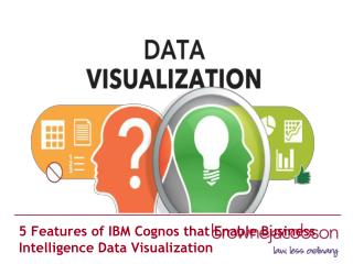 5 Features of IBM Cognos that Enable Business Intelligence Data Visualization