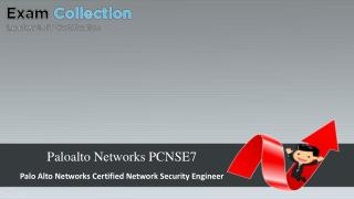 Examcollection Paloalto Networks PCNSE7 Exam VCE (PDF   Test Engine)