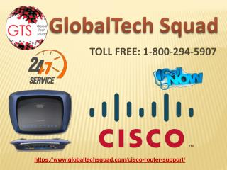 Support for Cisco Router