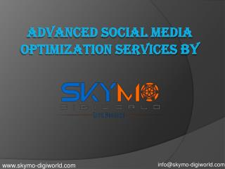 Social Media Marketing Services | Skymo Digiworld