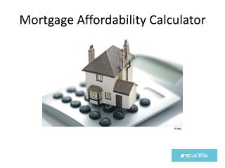 Mortgage Affordability Calculator In Vancouver, B.C