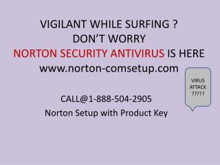 Run antivirus Norton Setup with Product Key call @1-888-504-2905