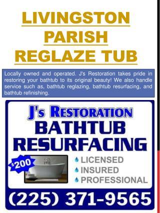 Lafayette bathtub resurfacing