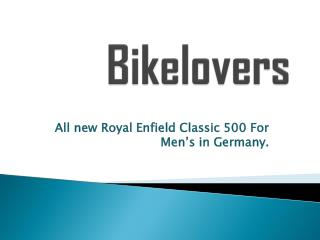 Bikelovers-Royal Enfield Motorcycle