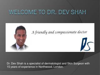 Private Skin Specialist Dermatologist Watford