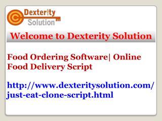 Just Eat Clone Script|Food Ordering Software|Food Delivery Script|Foodpanda Clone Script