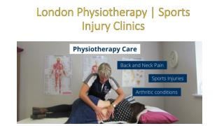 London Physiotherapy | Sports Injury Clinics