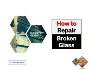 DIY - How to Repair or Replace a Broken Glass Window
