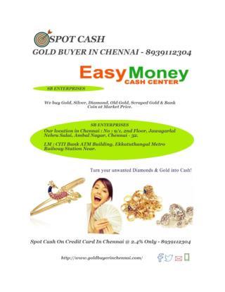 Best  Gold Buyer In Chennai - 8939112304