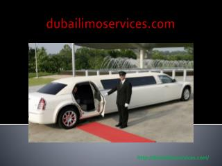Limousine Hire in Dubai