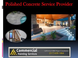 Polished Concrete Service Provider