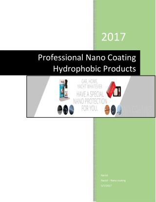 Professional Nano Coating Hydrophobic Products