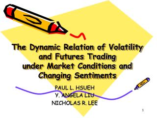 The Dynamic Relation of Volatility and Futures Trading  under Market Conditions and Changing Sentiments