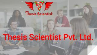 Thesis Scientist Pitch Deck