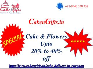 CakenGifts.in | Send Cake & Flowers in Gurgaon to your Loved Ones