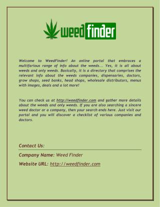 Find the List of Medical Marijuana Companies in USA