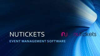 Event Management Software - All-in-One Event Platform   Nutickets UK