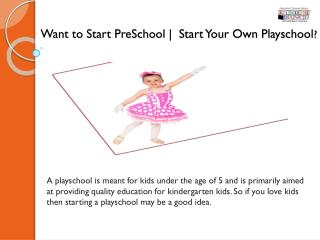 Preschool Franchise opportunities | Franchise for Preschool