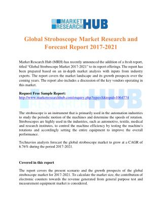 Global Stroboscope Market Research and Forecast Report 2017-2021