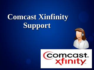 Comcast Xinfinity Support