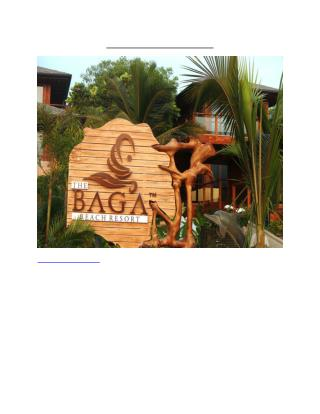 The Baga Beach Resort, Goa