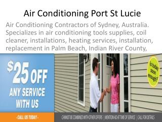 Air Conditioning Port St Lucie