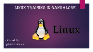 Best and Advanced LINUX Training in Bangalore