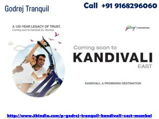 Godrej Tranquil New Housing Project Kandivali East Mumbai